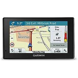 Garmin DriveSmart GPS avec mises à Jour des Cartes à Vie pour Royaume-Uni, Irlande, Europe - Trafic en Direct et Wi-FI intégré