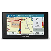 Garmin DriveSmart Sat Nav with Lifetime Map Updates for UK, Ireland and Full Europe, Digital Traffic and Built-in Wi-Fi 4