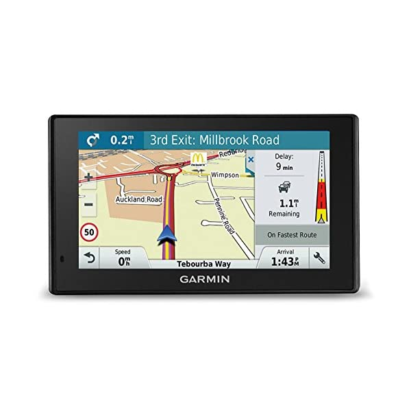 Garmin DriveSmart Sat Nav with Lifetime Map Updates for UK, Ireland and Full Europe, Digital Traffic and Built-in Wi-Fi 1