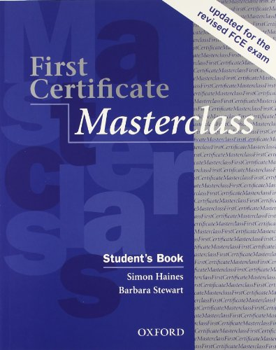 First certificate masterclass. Student's book-Workbook. With key. Per le Scuole superiori. Con Multi-ROM