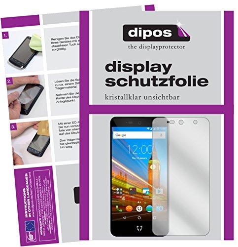 dipos I 2X Protection ecrán Compatible avec Wileyfox Swift 2X Films de Protection d'écran Transparent