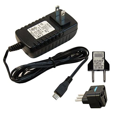 HQRP Netzadapter / Ladegerät für Asus Transformer Book T100 / T100TA-B1-GR, T100TA-C1-GR Tablet PC 10.1 Inch Convertible 2-in-1 Touchscreen