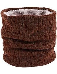 HIDARLING Invernale Berretti in Maglia con Sciarpa Invernale Beanie Set Cappello  in Lana Sintetica Calda per Uomo. b963833d120e