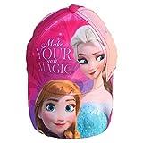 CAPPELLO Frozen Elsa Anna Disney con Visiera Taglia Unica Regolabile - WD19513/2