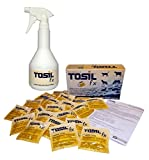 TOSIL fx Startpaket (25 Tabs/Tabletten) - Desinfektionsmittel, wirksam gegen Bakterien, Viren, Pilze & Parasiten (Giardien & Kokzidien), Wirkstoff: Chloramin-T