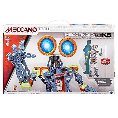 Meccano - 6027423 - Jeu de Construction - Meccanoid G15KS Meccano Tech