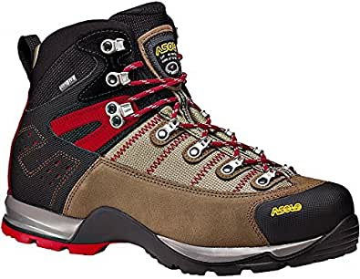 Asolo Mens Fugitive GTX Trekking and Hiking Boots, wool/black, 41.3333333333333