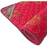 Coir-on® Slim Foldable PU Foam Travel Mattress - 72X30X1 – Maroon