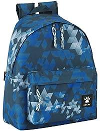 Kelme Mochila estampada, 32 x 40 cm, color azul (Safta 641514774)