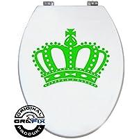 Corona etiqueta verde claro para Pressalit WC Tapa