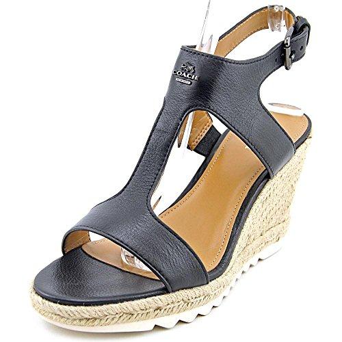 coach-leeanne-femmes-us-10-noir-sandales-compenss