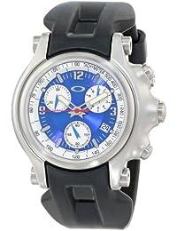 Oakley - 10-218 - Montre Homme - Quartz Analogique - Cadran Bleu - Bracelet c791e7ee3f42