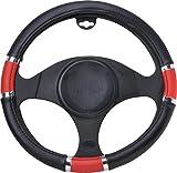 BMW M3Lenkradbezug Kunstleder zweifarbig rot schwarz für Lenkrad