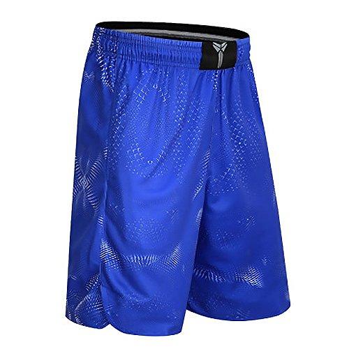 Sodhue Lose Basketball Shorts für Männer Leichte und Bequeme Kurze Hose Atmungsaktive und Coole Trainingsshorts für Fitness Radfahren Laufen Joggen