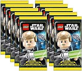 Unbekannt Lego Star Wars - Serie 1 Trading Cards - 10 Booster - Deutsch