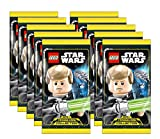 Unbekannt Lego Star Wars - Serie 1 Trading Cards - 10 Booster - Deutsch