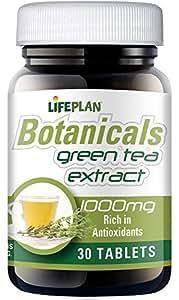 Lifeplan Green Tea 1000mg 30 Tablets