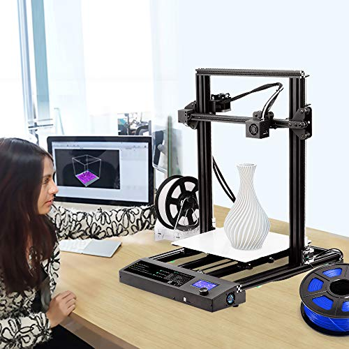 Sunlu 3D Printer, Semi-assembly, Nozzle & Heated for PLA, ABS, PETG, HIPS, WOOD, PLA Carbon Fiber with Build Volume 310 × 310 × 400 mm, for Home Use & Beginner - 7