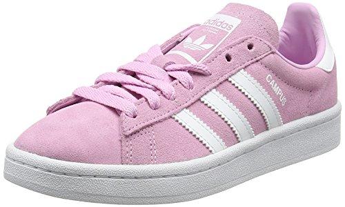 Reebok Unisex-Kinder Campus Sneakers, Pink (Frost Pink/Footwear White/Footwear White), 36 EU