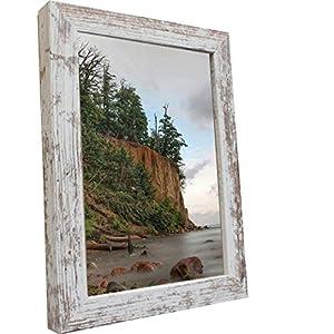 Bilderrahmen Fotorahmen 50x70 cm Vintage bilderrahmen zum aufhängen MDF Picture Frames Farbe und 40 Verschiedene Größen wählbar ohne Passepartout Rahmen Malmö