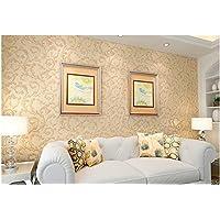 QXLML Amerikanischen Stil Gras Tapete Tapete Wohnzimmer Schlafzimmer Tapete  Wand Gold Dreidimensionale Retro Tun Alte Grüne