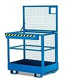Arbeitskorb, Staplerkorb, Sicherheitskorb RAK (RAL 5010 - blau)