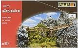 Faller FA 180391 - Hängebrücke, Zubehör für die Modelleisenbahn, Modellbau