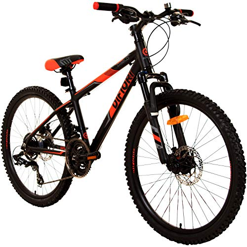 Speed Diablo 24 Zoll Jugendfahrrad Jungenfahrrad Fahrrad Hardtail
