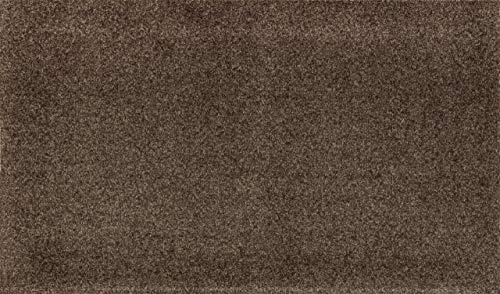 wash+dry Fußmatte, Acryl, Braun, 50 x 70 cm