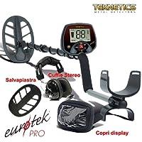 Detector de metales Teknetics Eurotek Pro 11 DD Euro Tek metaldetector cercametalli ·