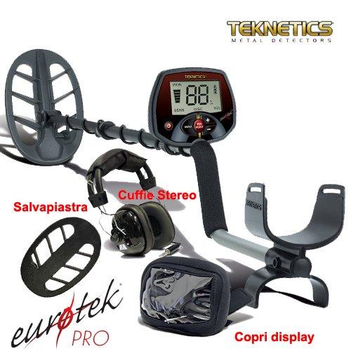 'Metal Detector Teknetics Eurotek Pro 11DD Euro Tek Metaldetector Metallsuchgerät -