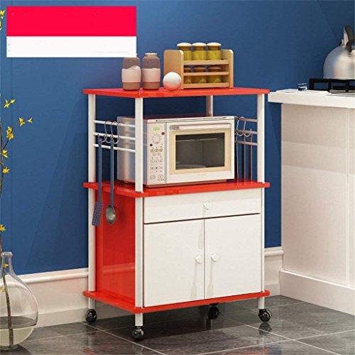 Bins Regal Teiler für Schränke Lagerregal Aufbewahrungsbox Küche Regal Mikrowelle Backöfen Regal Multischicht Multifunktionsboden Regal,2,B ()