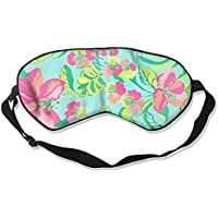 Comfortable Sleep Eyes Masks Flowers Pattern Sleeping Mask For Travelling, Night Noon Nap, Mediation Or Yoga preisvergleich bei billige-tabletten.eu