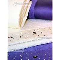 LIU JO CASA HOME Coppia asciugamani 1+1 con balza in raso e Swarovski colore 3d4b120107f