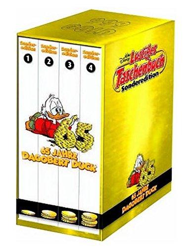 LTB Sonderedition - 65 Jahre Dagobert Duck komplett Set mit Band 1 + 2 + 3 + 4 Aus dem Leben eines Milliardärs Lustiges Tasschenbuch