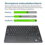 1byone Bluethooth Tastatur mit Touchpad - 2