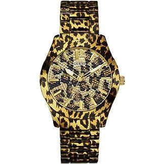 Guess Reloj para Mujer con Correa de Resina W0001L2
