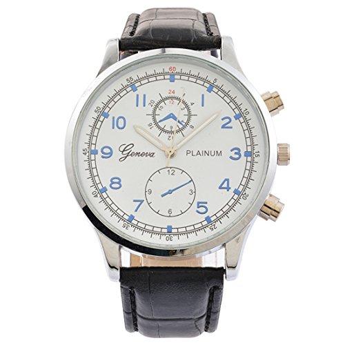 Souarts Herren Armbanduhr Geschäft Lässig Analog Uhr mit Batterie