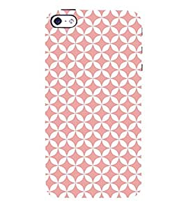 Baby Pink Self Diamond 3D Hard Polycarbonate Designer Back Case Cover for Apple iPhone 4