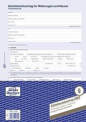AVERY Zweckform 2850 Mietvertrag  für
