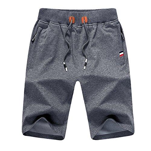 JustSun Mens Casual Sports Short...