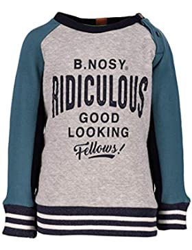 B.Nosy Baby Jungen Boys Pulli Pullover Sweater Mouse Melee 8301