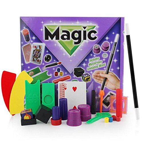 Xshuai 27 * 5,5 * 25 cm Hanky Panky Junior Magic Set für Kinder Zaubertricks Spielzeug für Kinder DVD Kit (Kostüm Ball Magic 8)