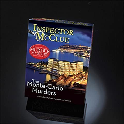 The Monte Carlo Murders Mystery Dinner Party Game by Paul Lammond