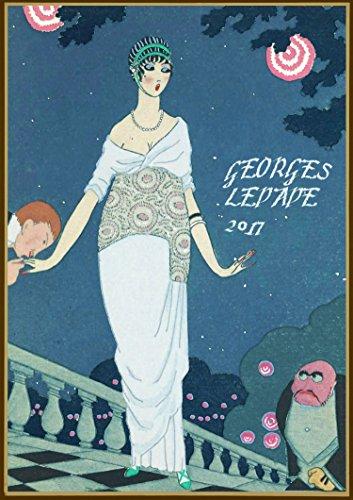 Wall Calendar 2017 [12 pages 20x30cm] Georges Lepape La Vie Parisienne Magazine Vintage Art Deco