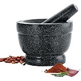 Lacor 60516 - Mortero con mano de granito, 16 x 12 cm