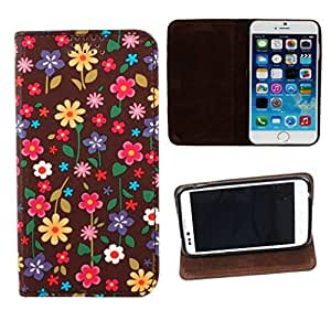DooDa PU Leather Flip Case Cover For Micromax Canvas 2 A110 / A110Q
