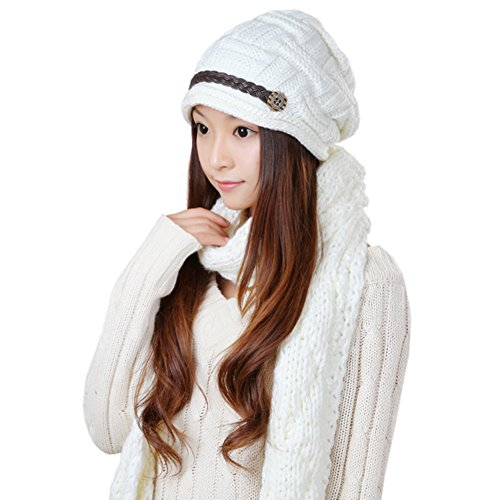 Chapeaux de dames coréen/ écharpe/Bonnet chaud/ écharpe A