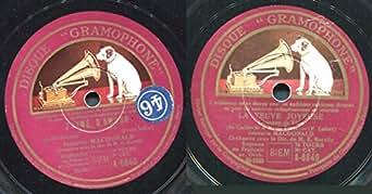 78 Tours - Gramophone - 6840 : JEANETTE MACDONALD - J'aime d'Amour - La Veuve Joyeuse (Chanson de Villa) - (Attention : Il s'agit d'un Disque 78 tours et non pas d'un CD).