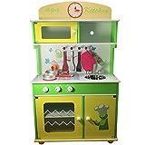 TikTakToo Kinderküche Spielküche aus Holz Kinderspielküche Spielzeugküche Holzküche Küche